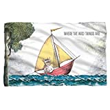 Maxs Boat -- Where The Wild Things Are -- Fleece Throw Blanket