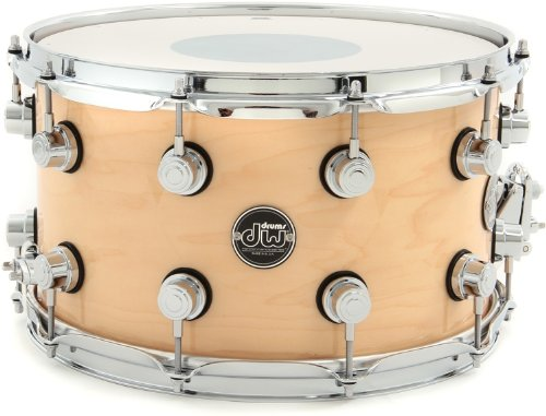 DW Performance Series Snare Drum - 8 Inches X 14 Inches Natural Lacquer by DW