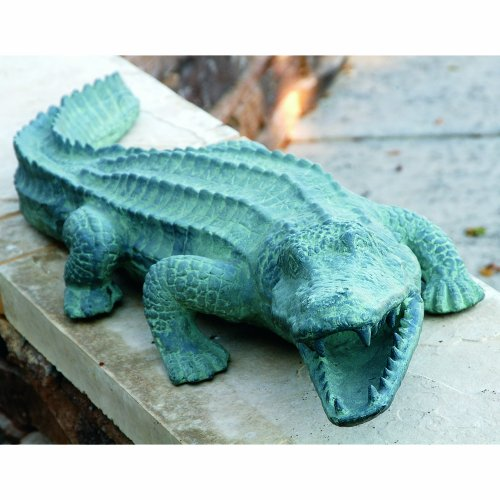 - SPI Home 30211 Mean Old Alligator Sculpture