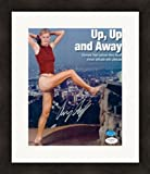 Amy Acuff autographed 8x10 Photo (High Jumper) JSA Image #1 Matted & Framed - Autographed Olympic Photos
