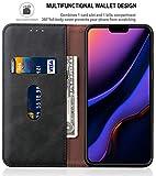 iPhone 11 Case, SINIANL Leather Wallet Case