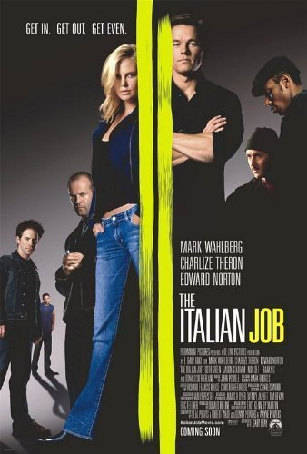 dvd the italian job - 5