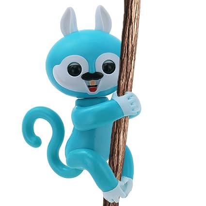 Amazon Com Finger Toys Squirrel Daluo Interactive Baby Squirrel