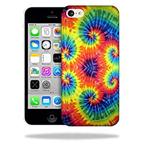 MightySkins Snap-On Protective Hard Case Cover for Apple iPhone 5C Tie Dye 2