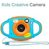 Macchina Fotografica per Bambini, Mini Fotocamera Digitale Portatile, Digital Camera Kids Videocamera HD