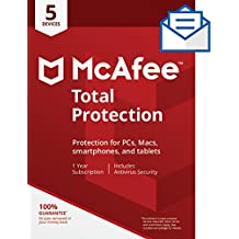 McAfee Total Protection - 5 Devices [Activation Card by Mail]