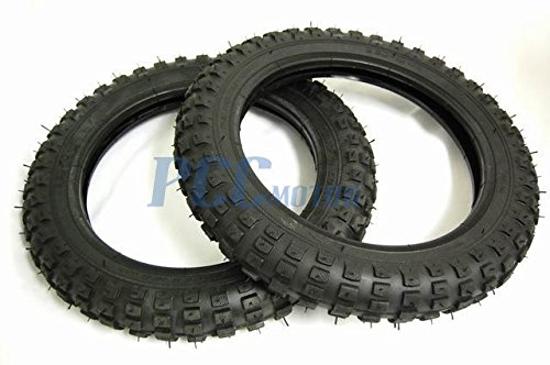 6L 2 SET 2.50X10 TIRES Honda XR/CRF50 PW50 JR50 TR01 X 2 (Crf50 Tires)