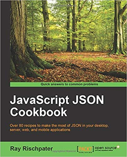 JavaScript JSON Cookbook Paperback