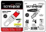 Screwpop Bic Mini Lighter Holder Keychain Multi