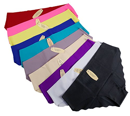 victorias-secret-lot-sets-of-10-or-5-no-show-seamless-underwear-large-all-colors-10-pair