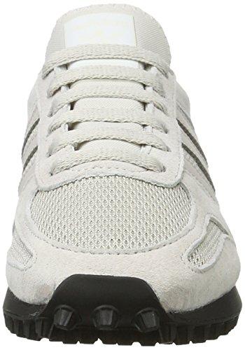 adidas la Trainer Og, Zapatillas para Hombre, Turquesa, 43 EU Gris (Pearl Grey/pearl Grey/core Black)