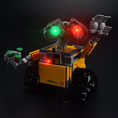 LIGHTAILING Light Set for (Ideas Wall E) Building Blocks Model - Led Light kit Compatible with Lego 21303(NOT Included The Model)