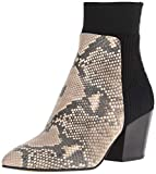 Dolce Vita Women's Caris Ankle Boot, Snake Print Embossed Leather, 8 M US