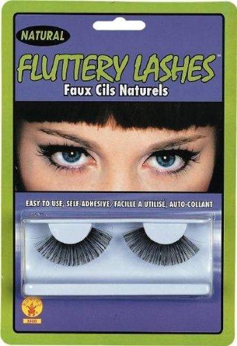 Rubie's Costume Co. 398B Fluttery False Eyelashes, One Size, Multicolor (Pack of 12) -