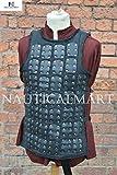 NAUTICALMART Luke Brigandine Armor - Black - Small - LARP