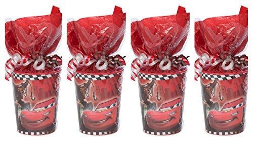 Disney Cars Party Supplies Pre-Filled Goodie Bag - 4 Goodie Bags by goodieGumDrops