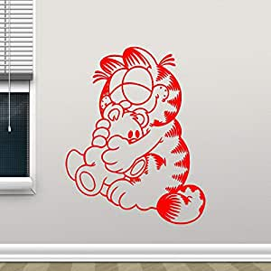 yaoxingfu Tatuajes de Pared Dibujos Animados Gato Vivero Niños ...