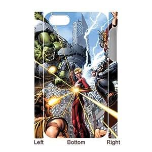WJHSSB Diy hard Case Avengers Marvel customized 3D case For Iphone 4/4s