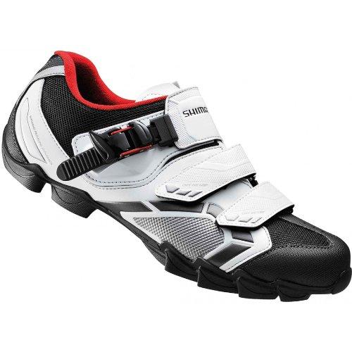 Zapatos MTB Shimano M088 Blanco Negro 2013 - Talla: 45