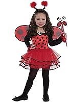 lovely ladybug girls fancy dress costume. Black Bedroom Furniture Sets. Home Design Ideas