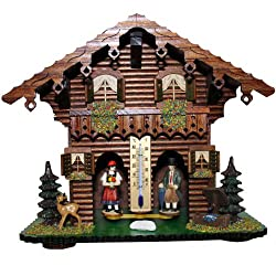 Trenkle Exclusive German Black Forest weather house TU 827