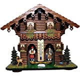 weather house barometer - Exclusive German Black Forest weather house TU 827