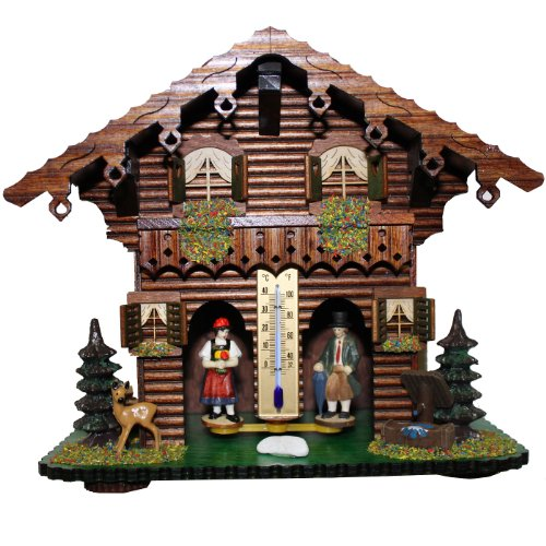 Exclusive German Black Forest weather house TU 827 - Exclusive Houses