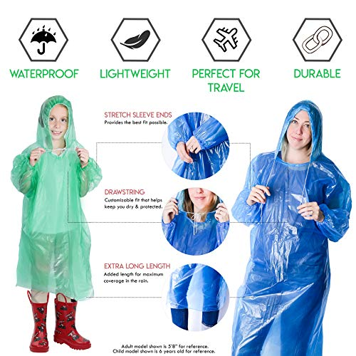 Buy the best rain poncho