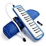 Vangoa 32 Key Melodica Blue Pianica Portable with