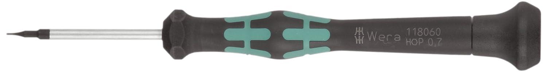 TX10 Head 60mm Blade Length Wera 05118186002 Kraftform Micro 2067 Torx HF Electronics Precision Screwdriver