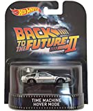 "Time Machine Hover Mode ""Back To The Future Part II"" Hot Wheels 2015 Retro Series 1/64 Die Cast Vehicle"