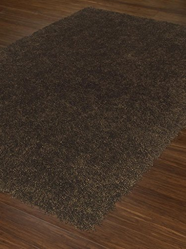 Modern Belize Contemporary Solid Area Rug Fudge Approx 9' x 13' -Universal Rugs - DAL 47 Belize Fudge