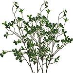 Warmter-433-Inch-Artificial-Eucalytus-Green-Branches-Pine-Evergreen-Plant-Tree-Branch-for-Home-Wedding-Garden-Office-2-Pcs