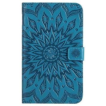 Yhuisen Sun Flower Diseño de impresión PU Leather Flip ...
