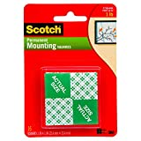 Office Products : 3M Scotch 111 Heavy Duty 1-Inch Mounting Squares, 16-Squares