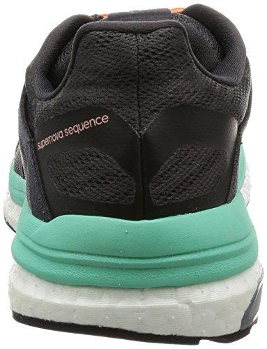 adidas Supernova Sequence 9 W, Zapatillas Mujer Negro (Neguti/oxmete/versen)