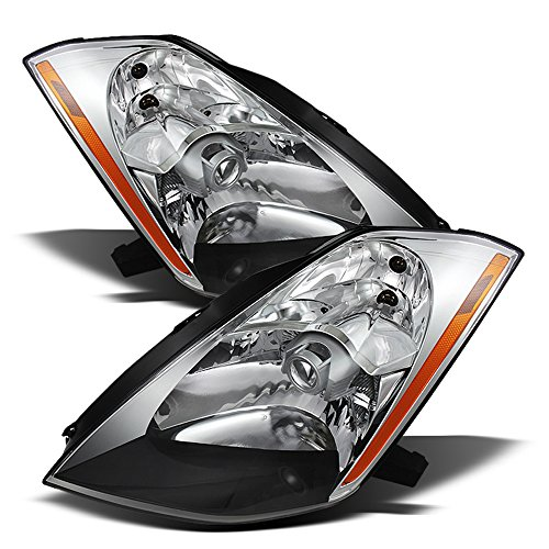 ACANII - For Pair HID Xenon Headlamps 2003 2004 2005 350Z Projector Headlights Driver + Passenger Side