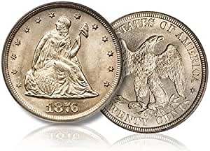 1876 trade dollar fine condition
