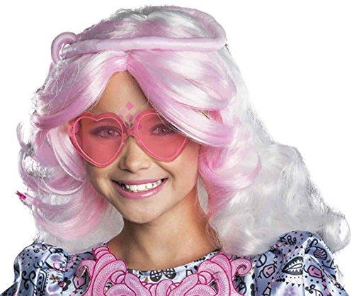 [UHC Child Monster High Viperine Gorgon Wig Halloween Costume Accessory] (Viperine Gorgon Girls Costumes)