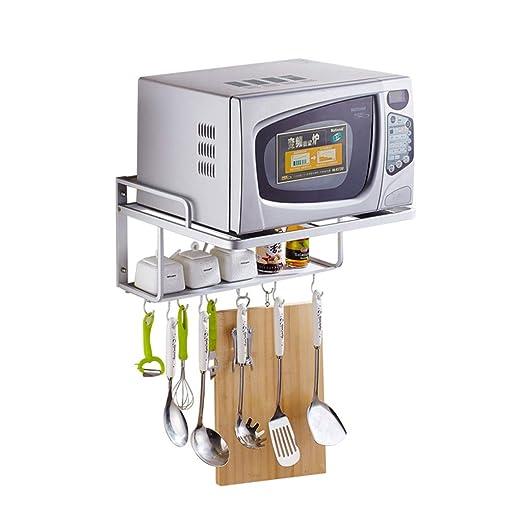 Espacio Aluminio Microondas Bastidores de almacenamiento en ...