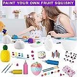 6PCS DIY SquishyPaint Your Own Squishies Kit, Top