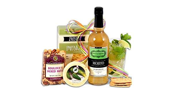 Amazon.com : Mojito Gift Basket Stack™ : Gourmet Snacks And Hors Doeuvres Gifts : Grocery & Gourmet Food
