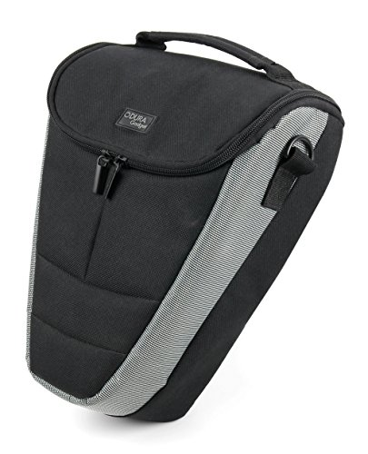 DURAGADGET Durable Black & Grey Shock-Absorbing Padded Interior Case - Compatible with The Celestron Oceana 8X42