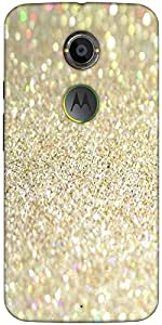 Snoogg Sands And Crystals Designer Protective Back Case Cover For Moto X2