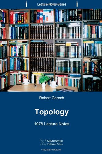 Topology: 1978 Lecture Notes (Lecture Notes Series)