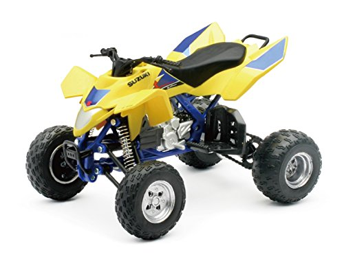 New Ray Toys 1:12 Scale Replica - LTR450 - Yellow (New Ray Diecast Motorcycles)