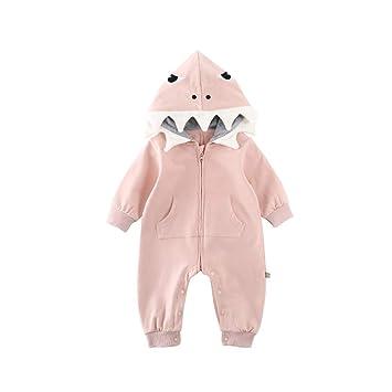 Amazon.com: TENDYCOCO Baby Boys Girls Cartoon Shark Warm ...