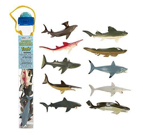 Ltd Toob Sharks Safari (Safari Ltd Prehistoric Sharks TOOB by Safari Ltd)