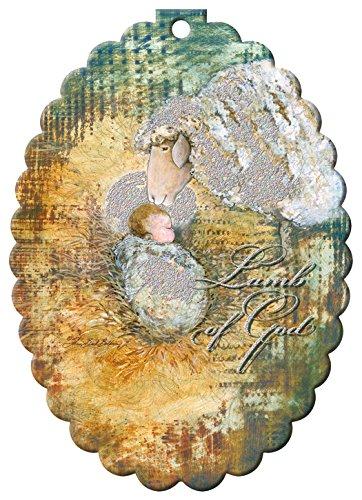 Lamb Ornaments (Performing Arts Hangable Ornament Card Lamb of God Stationery Paper, 69007-12)