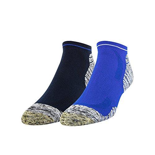 Gold Toe Mens Golf Sta-Cool Xs Fairway No Show Socks, 2 Pairs